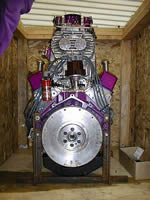 Crated Engine